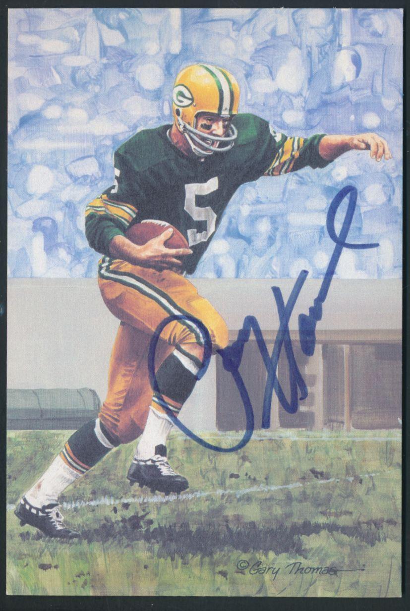 Details about Paul Hornung Signed 1990 Goal Line Art Card Autograph Auto  PSA DNA AD70606 2b557f06f