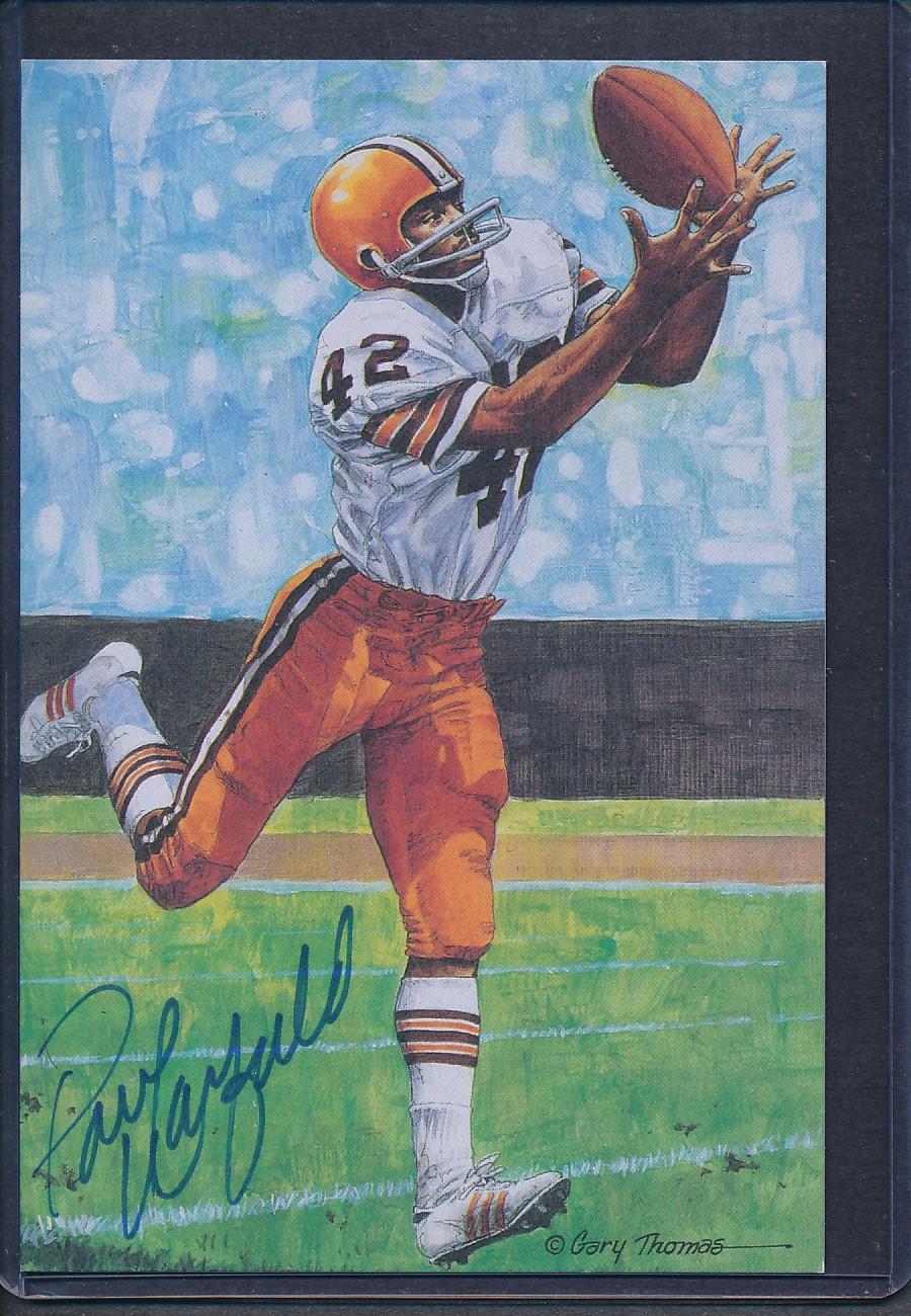 Details about Paul Warfield Signed 1989 Goal Line Art Card Autograph Auto  PSA DNA AD70637 ebf15f8b7